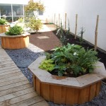 Start creative raised beds and deck
