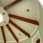 Rotunda Living – internal roof beams