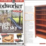 Assured Fine Furniture bookcase featured in Woodworker magazine