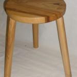Elm stool (Black cat)
