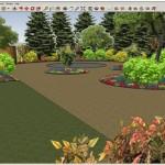 Garden 3D design